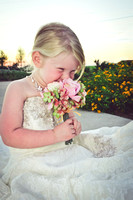 Mini Me Wedding Dress Session